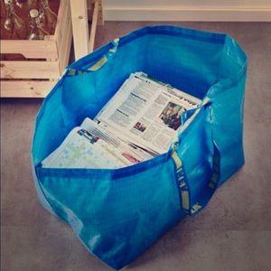 5x IKEA large 19 gallon frakta Storage Bags